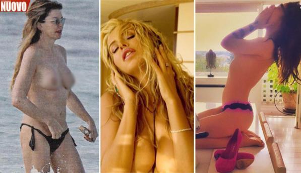 """Esame di """"maturità"""", per le vip è il topless"""